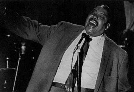 Big Joe Turner, koop radio, from the other side of the mirror